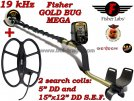 Metaldetector Fisher Gold Bug MEGA