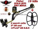 Металотърсач Fisher Gold Bug PRO MEGA
