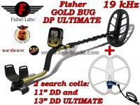 Металотърсач Fisher Gold Bug DP ULTIMATE