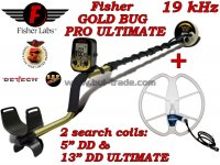 Металотърсач Fisher Gold Bug PRO ULTIMATE