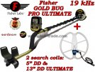 Metaldetector Fisher Gold Bug PRO ULTIMATE