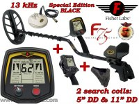 Металотърсач Fisher F75 Special Edition BLACK DST