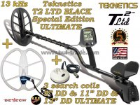 Металотърсач Teknetics T2 LTD BLACK ULTIMATE