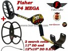 Metal detector Fisher F4 MEGA