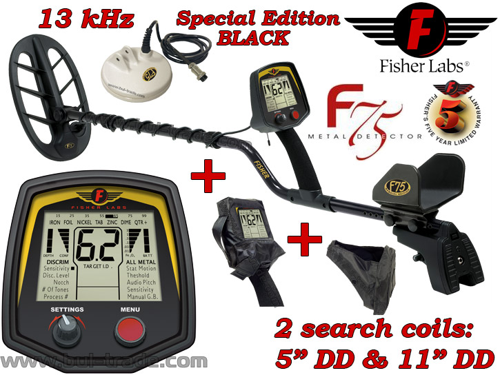 Fisher f75 special edition | colonialmetaldetectors. Com.